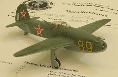 Yak-15 Feather model