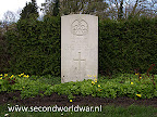 Lance Corporal W.J. Pope of the 53r Regiment RECCE Corps R.A.C. killed on 1e april 1945 at age 20.