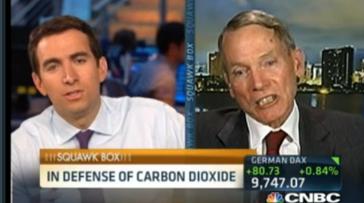 Watch Now: Princeton Physicist Dr. Will Happer in hostile TV debate: CNBC host to Happer: 'You don't believe in climate change at all' - Happer: 'Just a minute...I believe in climate change. Shut up!'
