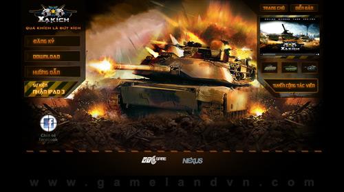 Tank Ranger quay trở lại với tên mới Xạ Kích 2