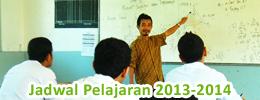 Jadwal Pelajaran 2013-2014
