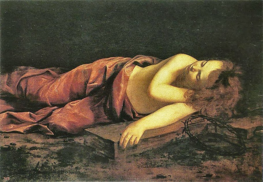 Orazio Gentileschi - Jésus endormi sur la croix