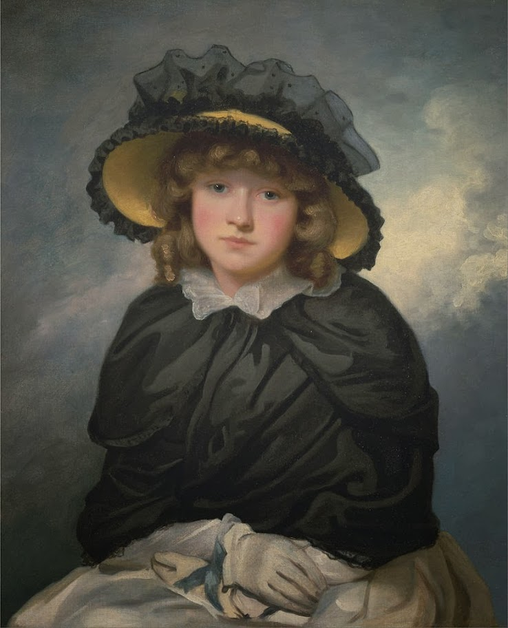 John Hoppner - Louisa Lane, Called 'Cecilia' - Google Art Project