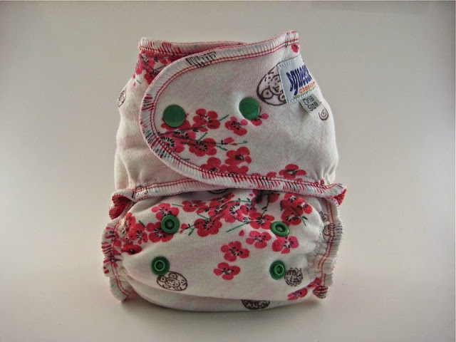 Oriental Cherry Blossoms OS Organic Fitted