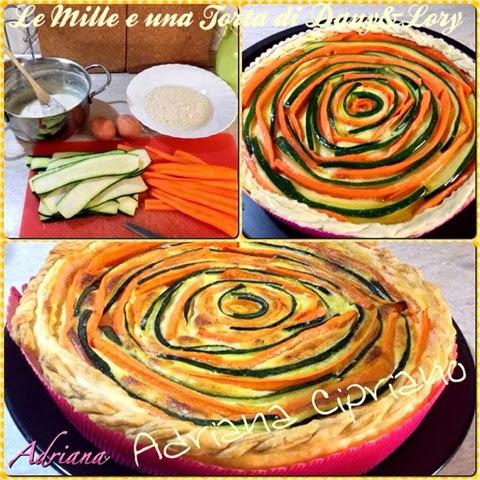 torta di verdure