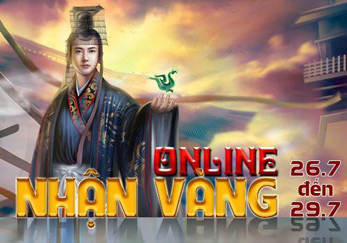 """Ngạo Kiếm 2 ra mắt sự kiện """"Online nhận vàng"""" 2"""