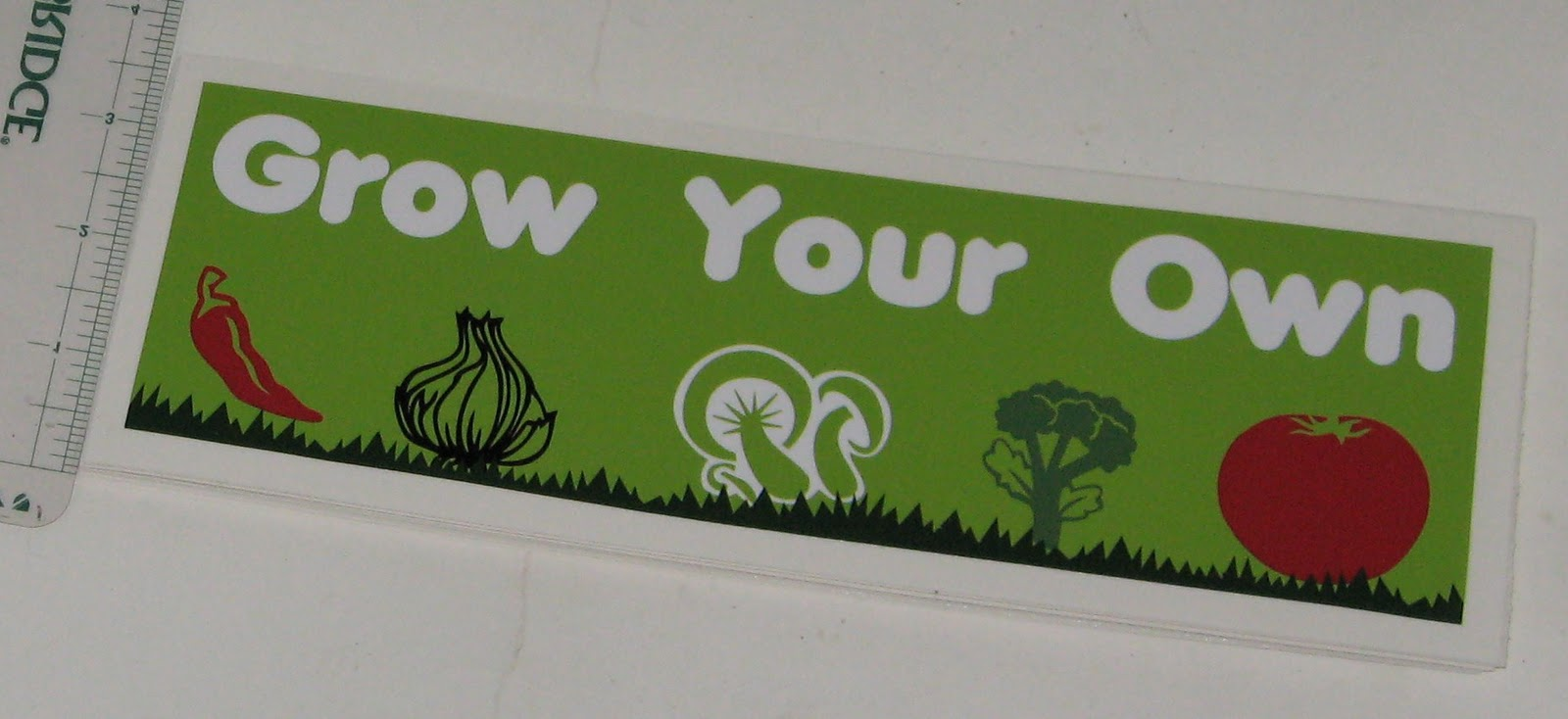 Bumper stickers design your own -  Play With Your Houseplants But I M Looking For A Creative Distraction Enter Build A Sign You Can Design Your Own Bumper Stickers See What I Did