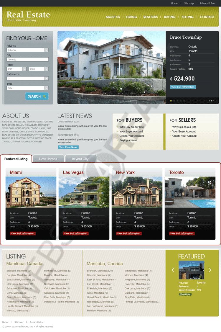 Best Real Estate Listing Template Ideas - Professional Resume ...