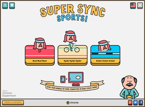 Google Chrome Super Sync Sports