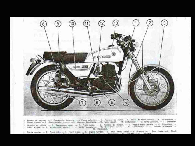 bultaco metralla operations maintenance manual for gts cemoto these are some examples from the bultaco metralla manual