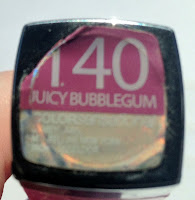 Maybelline Colour Sensational Lip Colour in Juicy Bubblegum - Review and Swatches