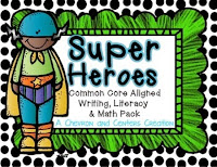 http://www.teacherspayteachers.com/Product/Superheroes-Unit-1334810