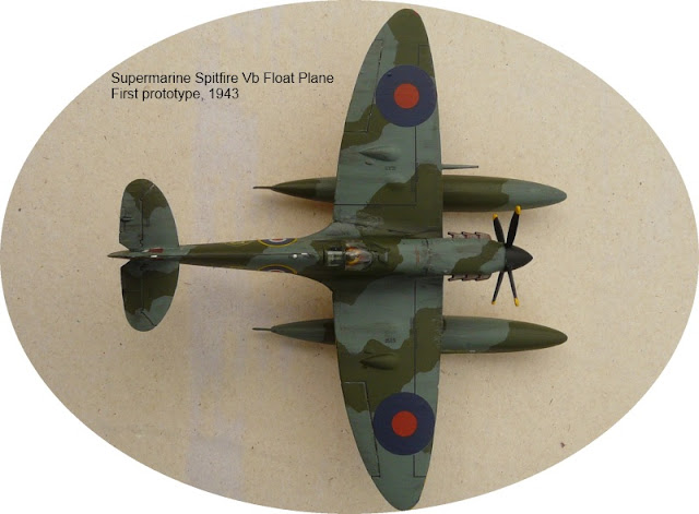 Airfix 1/72 Spitfire Vb Floatplane (A02046A)+PM-Model (216