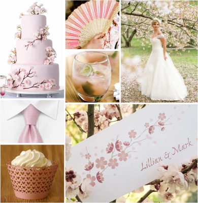 Wedding dcor theme wedding decorations wedding decoration ideas the traditional cherry blossom represents pure love in japan so mark down the date of the annual cherry blossom festival in dc which would be late march junglespirit Choice Image