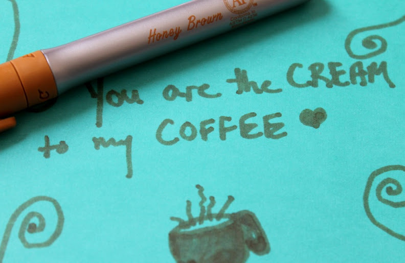 """You are the Cream to my Coffee"" DIY Coffee Lover Gifts with #BICMerryMaking"