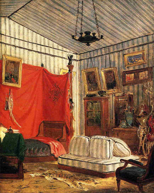 Eugène Delacroix - Count de Mornay's Apartment