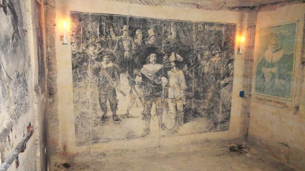 Голландия, катакомбы деревни Сиббэ (Sibbergroeve)