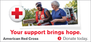 Your support brings hope. Donate to the Red Cross today