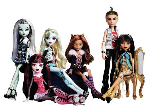 Estas son las primeras Monster High en salir a la venta
