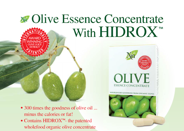 certifed organic olive essence concentrate