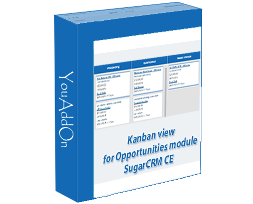 Kanban view for Opportunities module