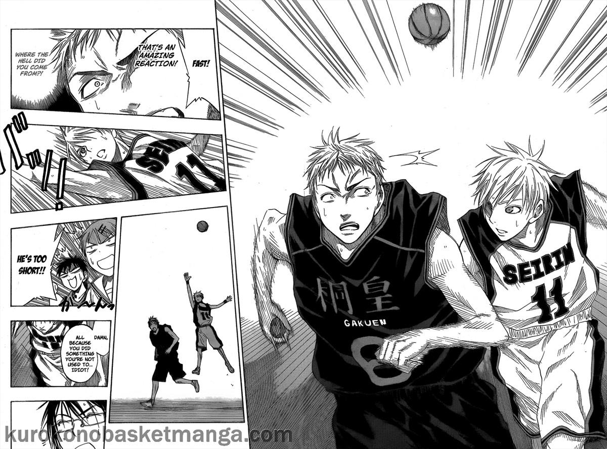 Kuroko no Basket Manga Chapter 43 - Image 12-13