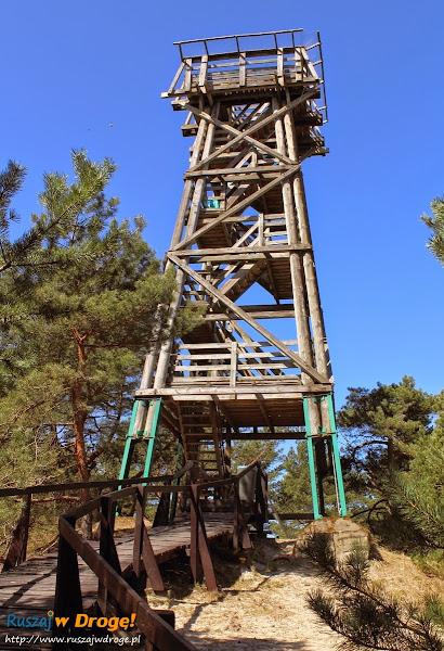 wieża widokowa w muzeum wyrzutnia rakiet