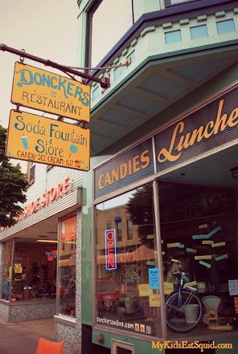 Donckers Restaurant (and caramels). Upper Peninsula, MI
