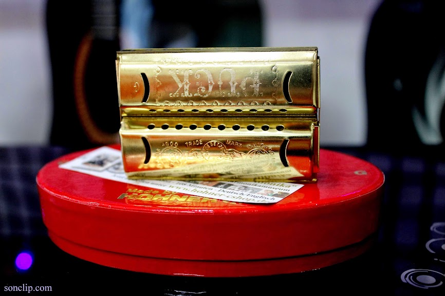 Kèn Harmonica - Hohner Double Puck