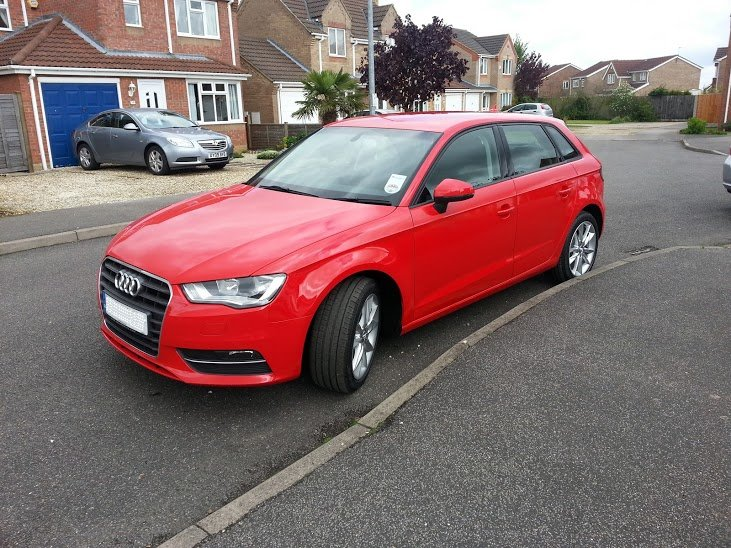 Audi A3 Sportback Red Www Imgkid Com The Image Kid Has It
