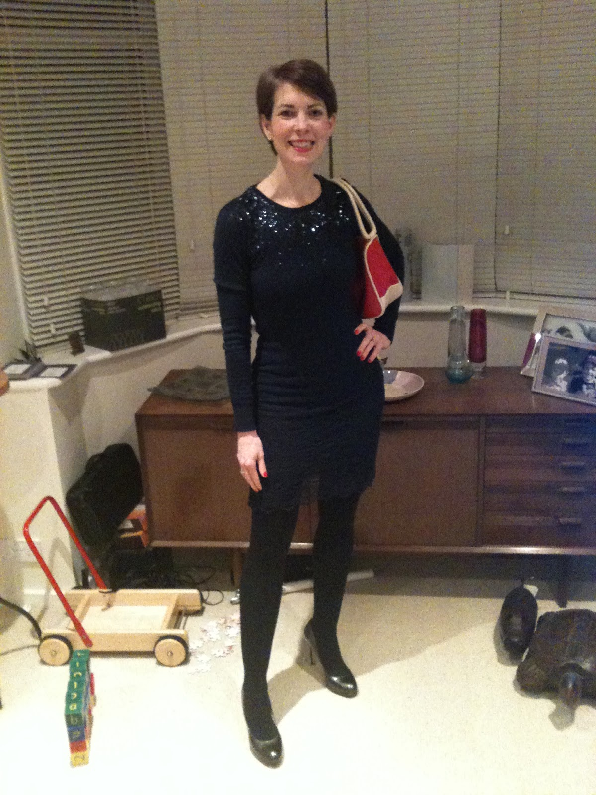Mum on the Run day 32 – Lace and sequins