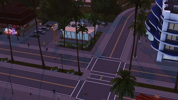 Городские пейзажи симс3