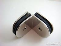 裝潢五金 品名:CH705-玻璃夾(雙邊) 規格:10MM 顏色:PC 玖品五金