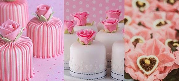 Docinhos casamento cor de rosa
