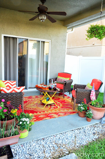 Summer Patio Refresh With @worldmarket Via SewWoodsy.com #SummerFun  #Decorating #Outdoor