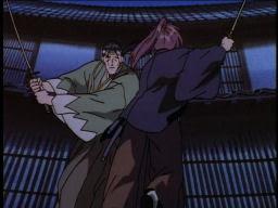 When Hajime met Kenshin.