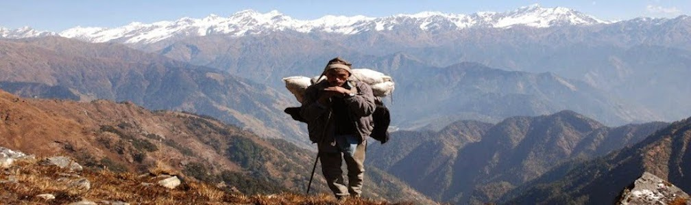 "A local porter from Far western region nepal"" width="