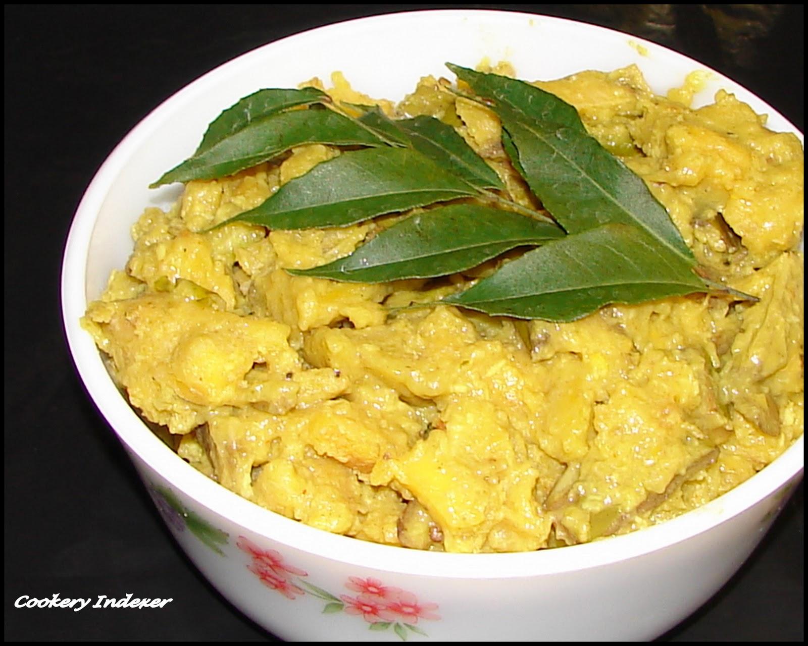 Regional indian cuisine blogroll ethakka aviyal for Avial indian cuisine
