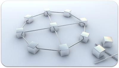 Série de cube en réseau