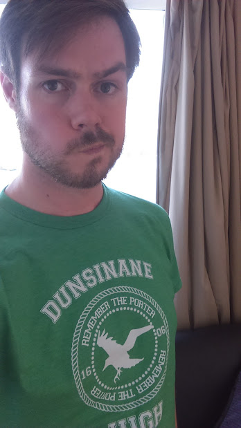Dunsinane varsity tee from Past and Prologue