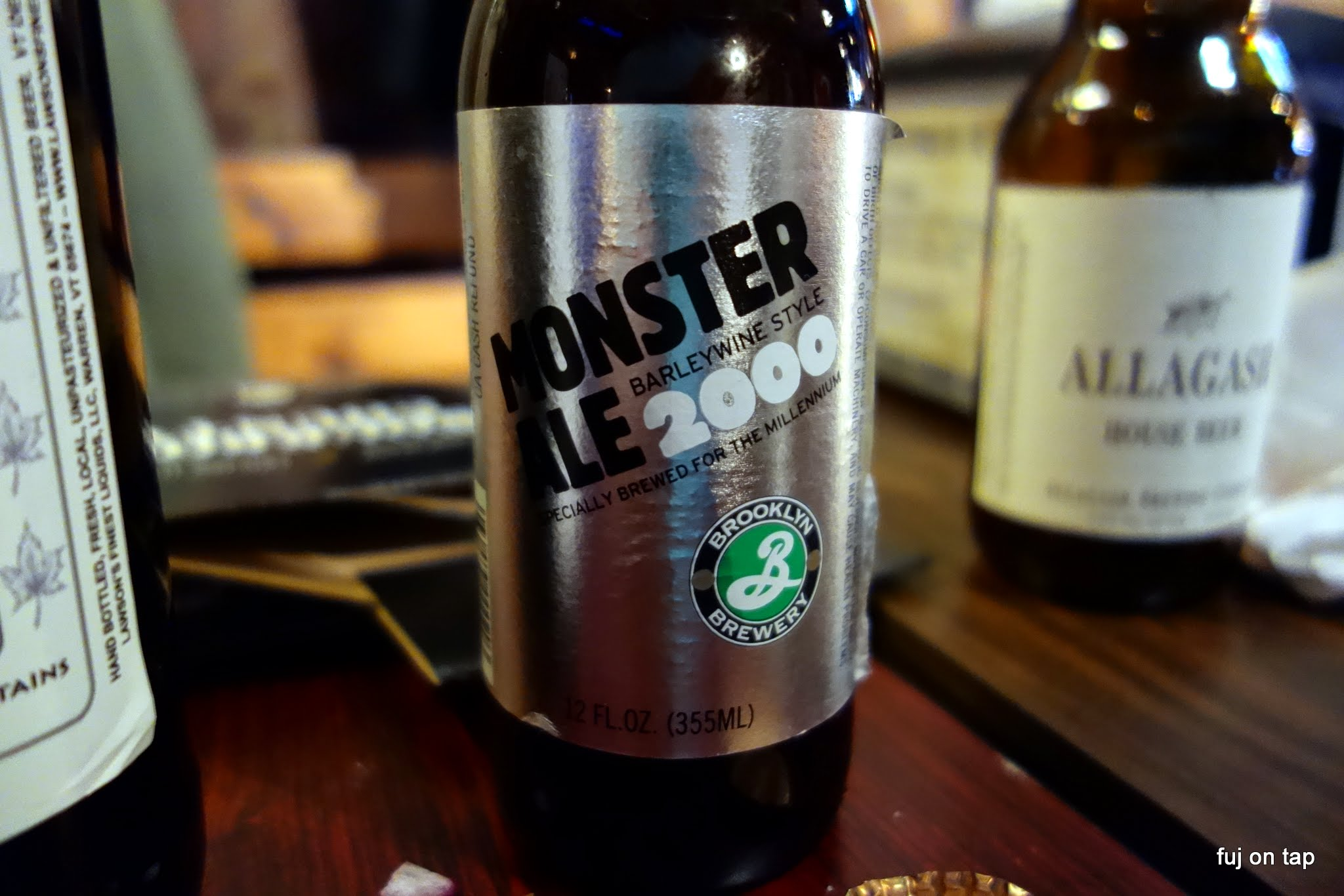 Brooklyn Monster Ale 2000