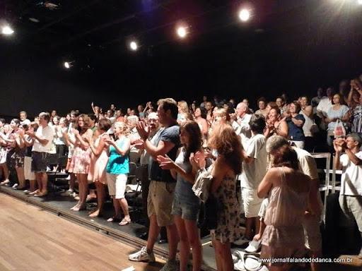 O Centro Coreográfico da Cidade do Rio de Janeiro estreou dia 20/01 sua programação 2012, que inclui oficinas, exibição de vídeos e espetáculos de dança, dentre outras atividades, a maioria grátis ou a preços populares, como o espetáculo Mistura e Manda, da Cia Aérea de Dança, que encerrou sua curta temporada no Teatro Angel Vianna dia 05-02-2012.