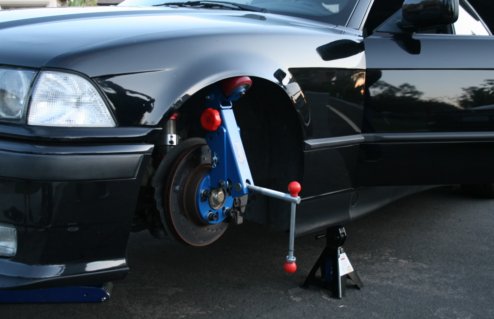 How To Roll Bmw E46 Fenders