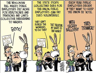 WISCONSIN's PUBLIC-EMPLOYEE UNION's EMOTIONAL DISORDER..... Theo4