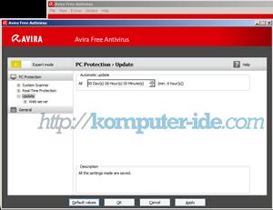 schedule update avira free antivirus Cara Update Avira Free Antivirus Otomatis dan Manual(Offline)