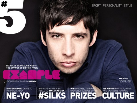 #5 Magazine - Cover of Issue 8
