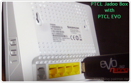 PTCL Jadoo Box: SAGEMCOM 2704R Router Installation & Settings
