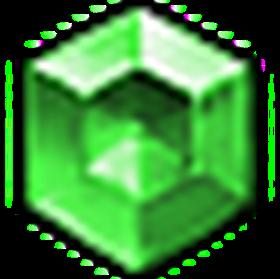 完美星芒綠寶石