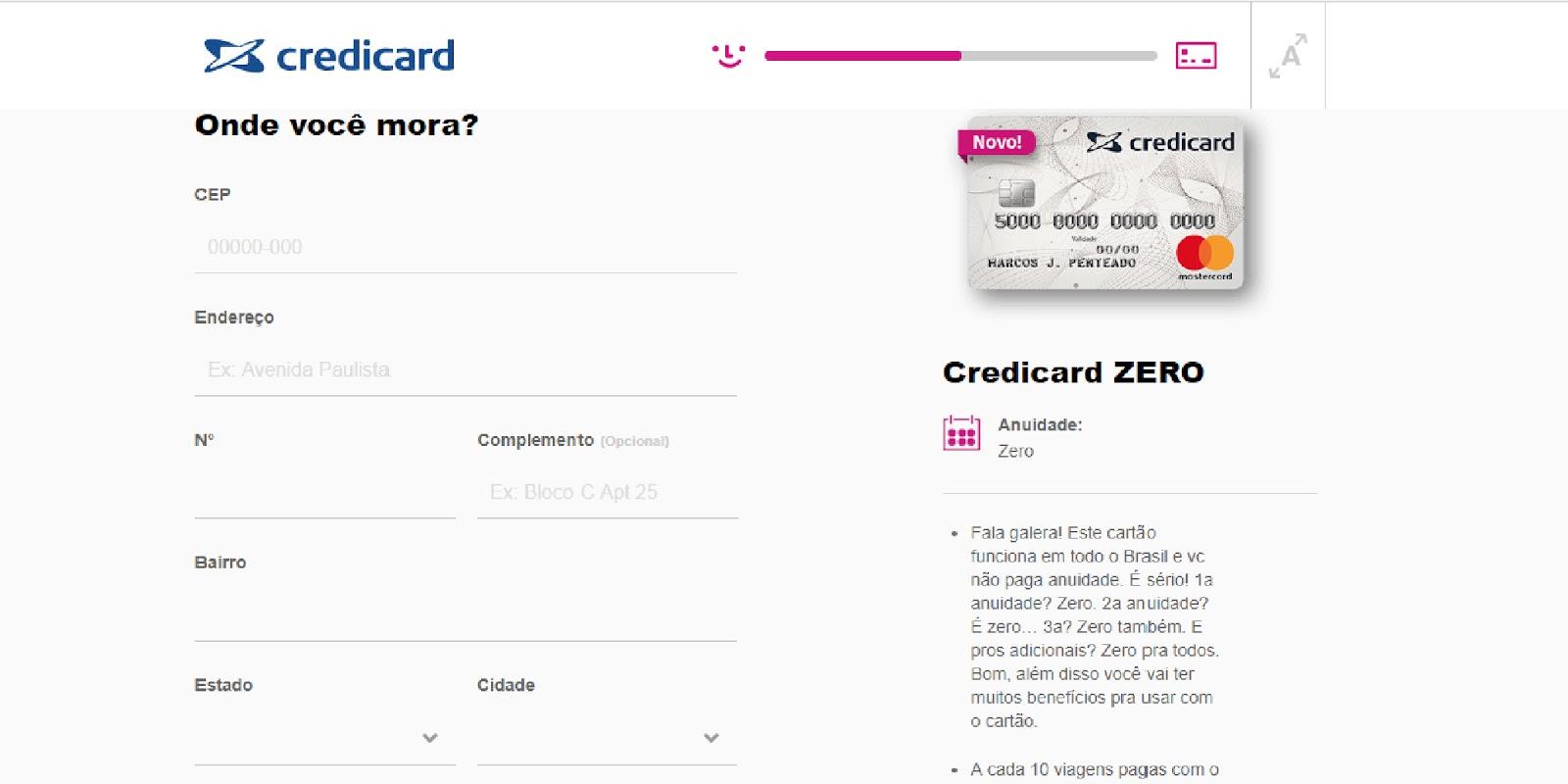 Credicard Zero: saiba como solicitar o cartão de crédito