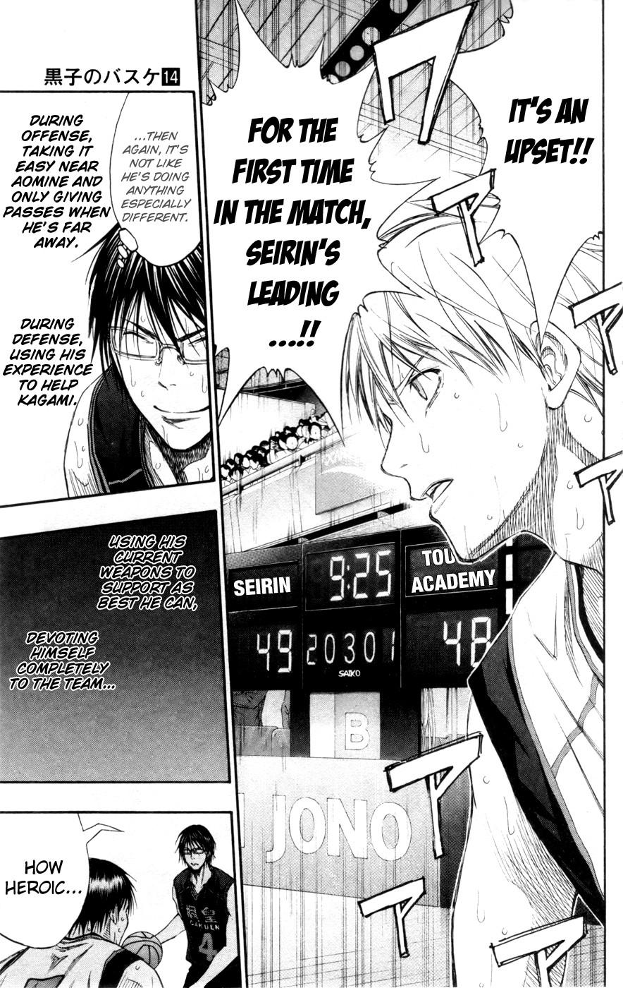 Kuroko no Basket Manga Chapter 125 - Image 17